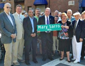 Two community leaders commemorated 1