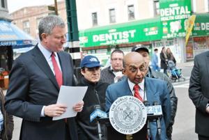 De Blasio report finds agencies target Queens businesses 1