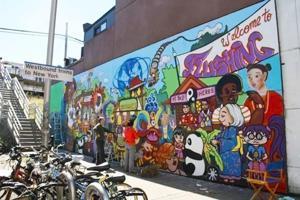 LIRR mural improves area 1