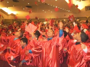 Flushing High grads bid adieu to school 1