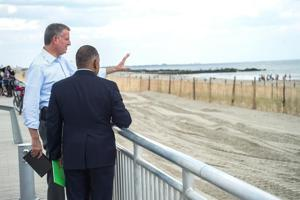 Part of boardwalk opens once again 1