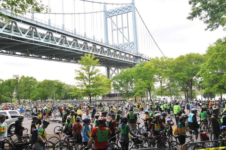 2012 Five Boro Bike Tour