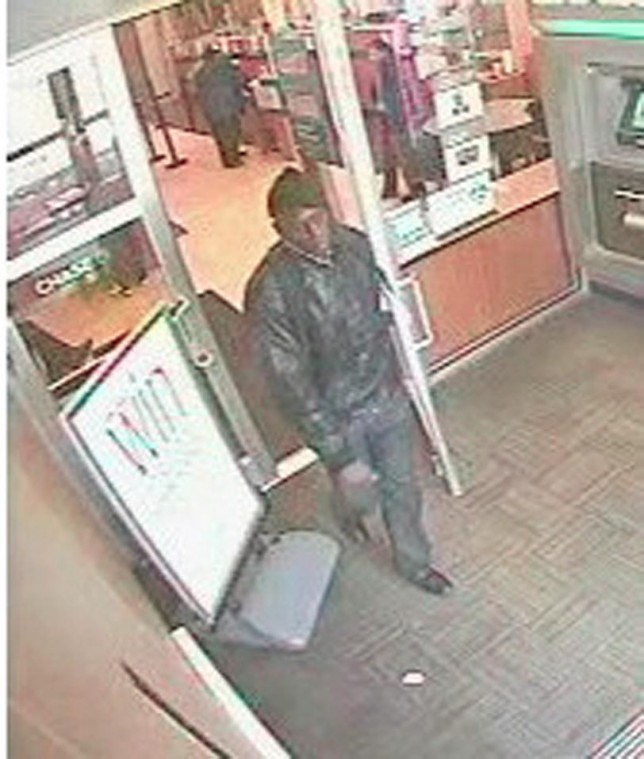 Robbery suspect hits his fifth bank 2
