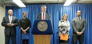 Mayor makes big changes at NYCHA 1