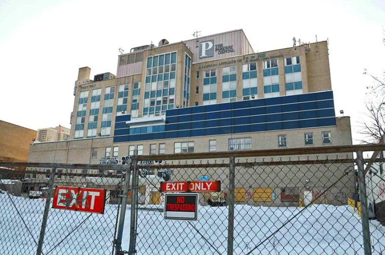 Parkway Hospital auctioned off in Jan. 1