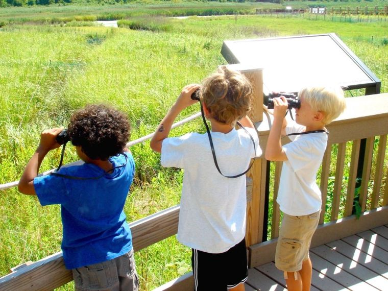 Kids experience the outdoors at APEC 2