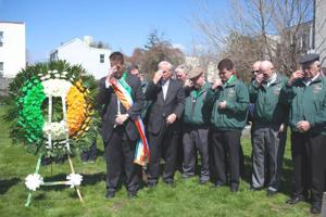Honoring the fallen Irish 1