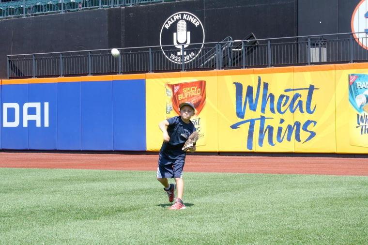 Having a ball at the ballpark