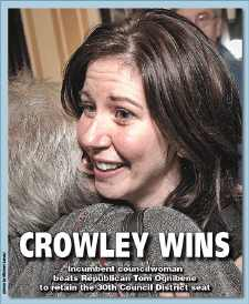 Crowley wins District 30 Council race