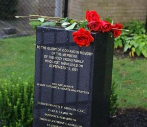 Holy Cross High School unveils 9/11 memorial 3