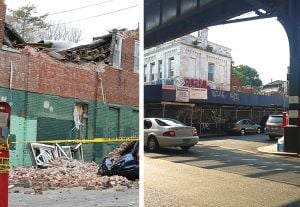 Collapsed building won't be demolished 1
