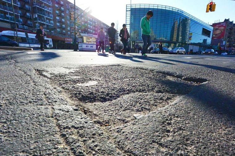 Flushing potholes called 'horrible' 2