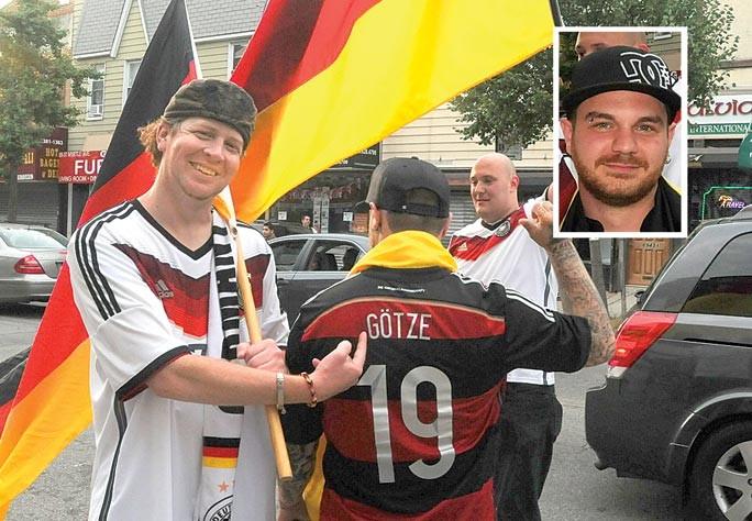 Goooaaal! Glendale celebrates Germany's win 4