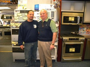 Expertise and great service at Coccia's Appliance Center 1