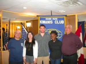 Kiwanis welcomes students 1