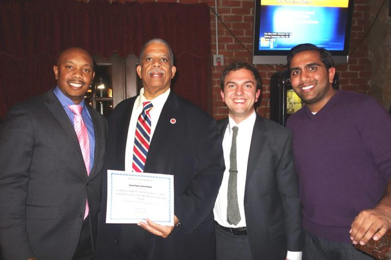 Young Dems honor Comrie 1