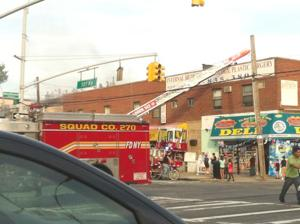 Fire erupts along 101st Avenue strip 1