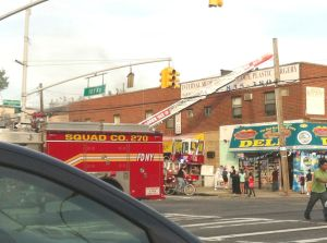 Fire erupts along 101st Avenue strip 1