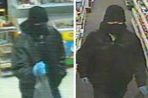Suspects wanted in gunpoint robberies 1