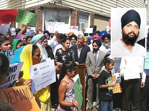 Sikhs rally for justice for hit-and-run victim 2