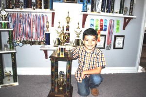 At the age of 7, a state chess champ 2