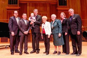 Retiring QC president honored 1
