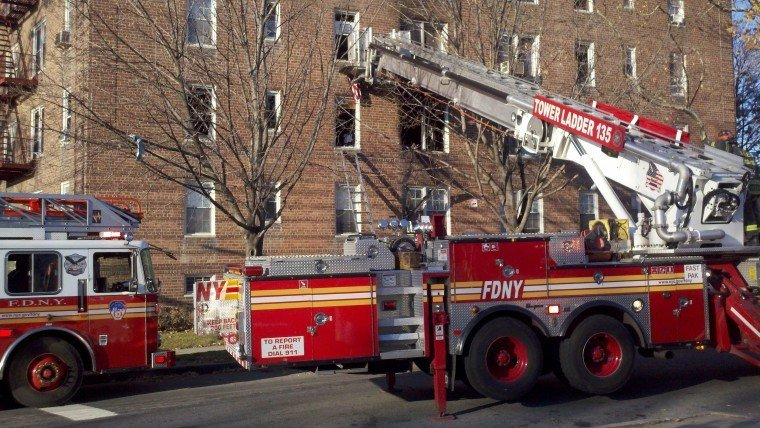 Thanksgiving fire hurts four in Rego Park