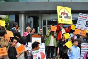 Boro libraries face $30M budget cut 1