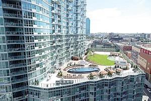 Luxury rental sells out at new building 1
