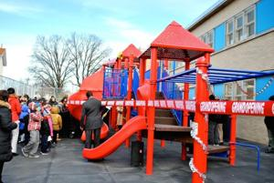 PS 251 playground finally completed 3