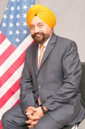 Satnam Singh Parhar runs for City Council 1