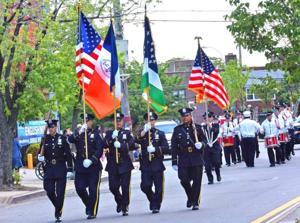 Highlights of Memorial Day parades 1