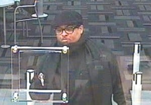 Police want bank robber 1