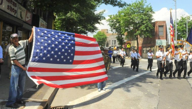 Sunnyside celebrates the Stars and Stripes 1