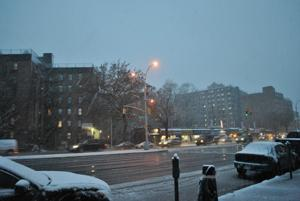 Surprise snowstorm shocks storm-weary Queens