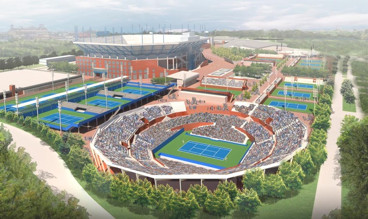 Tennis center seeks an updated look 1