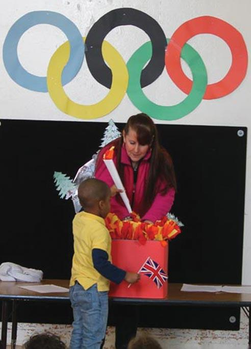 The Olympic spirit in Howard Beach
