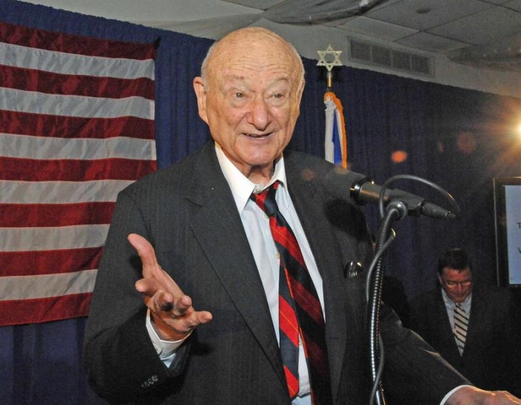 Ed Koch, former NYC mayor, remembered in Queens 1