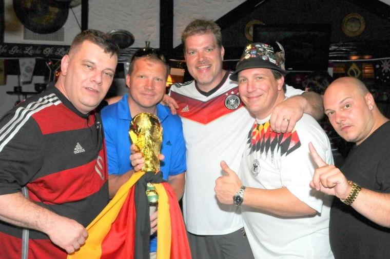 Goooaaal! Glendale celebrates Germany's win 5
