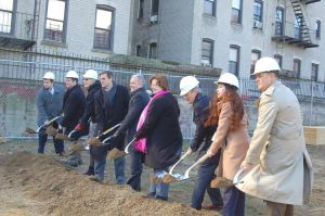 Groundbreaking of Sunnyside's PS 313 1