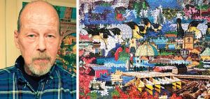 Ron Davis: Portrait of a 'puzzled' artist 1