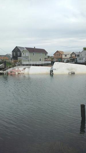 Ham Beach boats still sinking 1