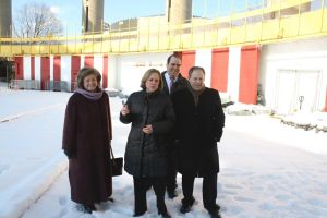 Borough President Katz supports preserving the New York State Pavilion