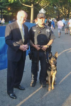 Bratton, NYPD ruff on crime at the US Open
