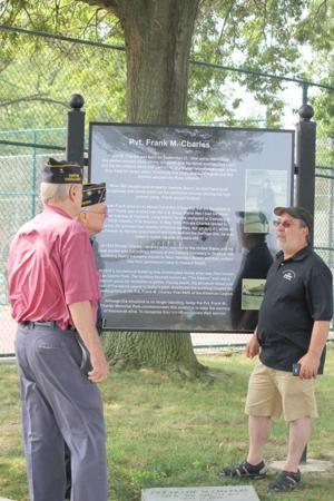 New Frank Charles memorial vandalized 2