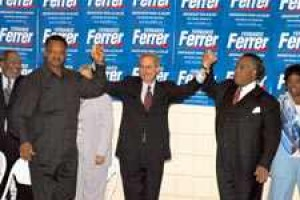 Fernando Ferrer Endorsed By Jesse Jackson For Mayor