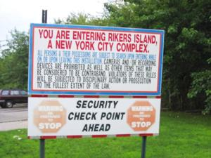 Council wants reform on Rikers Island 1