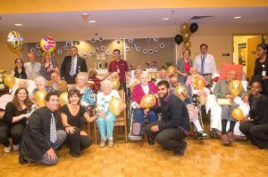 "<p>Chapin Home for the Aging recently inducted 14 residents into their ""Century Club."" Joining in the celebration are, from left, on the floor, Katie Kuhle, Frank Sanchez, Claudia Anzola, Abdur Lallmohamed and Nicole Ross. Front row: Gent 106, Georgiana Schilizzi, 103, Mary Nuccio 100, Annette Funghini 102, Mattie Woolfolk 103, Ivo Cendrecourt 100, Naika Clairsanvail. Second row: Albina Rizzo 102, Irwin Feigin 99, James Kee 101, Marjorie Barrow 100, Esther Vega 102, Margaret Maschid 100, Katie Santangelo 104. Back row: Kathleen Rollo Ferrara, Andrew Lombardo, Jennifer McManaman, Dr. Nodar Janis, Kevin Vergilio, Kathryn Maguire and William O'Hara.</p>"