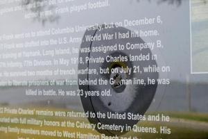 New Frank Charles memorial vandalized 1