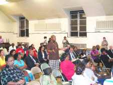 City vows angry flood victims will be helped